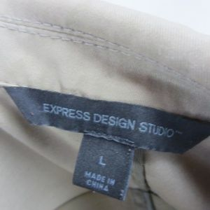 Express Suits & Blazers - Express Blazer Men's Large Tan Khaki Sport Coat
